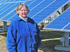 Kim Gaffett is the First Warden on Block Island