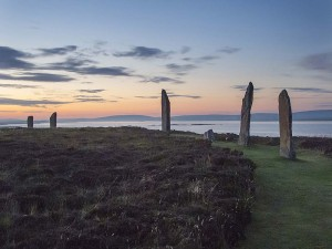The Ring of Brodgar in Orkney.